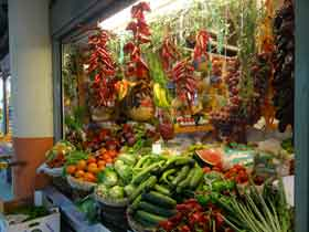 market in Alicante