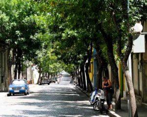 Mercedes side street, Uruguay