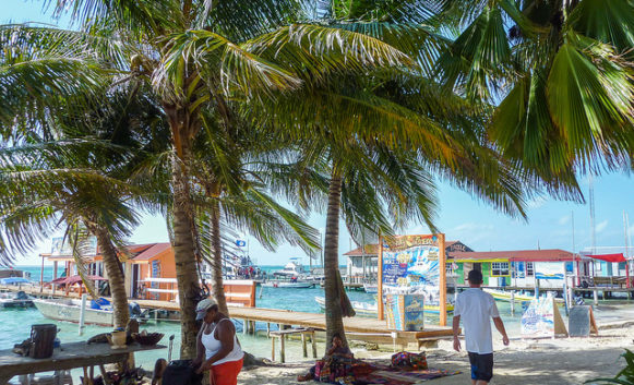 Working in Belize