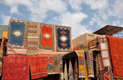 "Morocco's Real-Life ""Magic Carpets"""