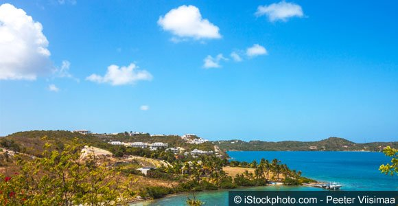 Caribbean view. Nonsuch Bay, Antigua & Barbuda, Buying Real Estate in Antigua and Barbuda