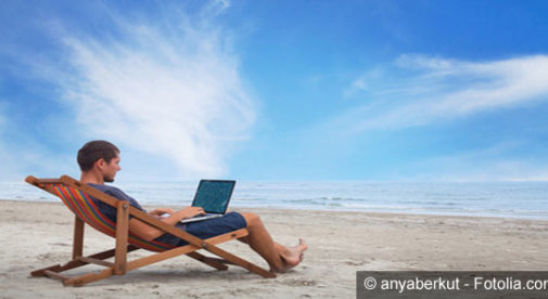 beach-computer