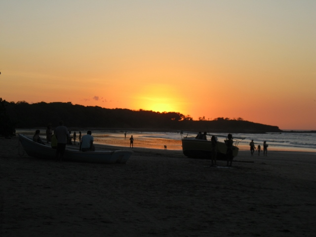 In Tamarindo, watching sunset with friends and family is a daily ritual.