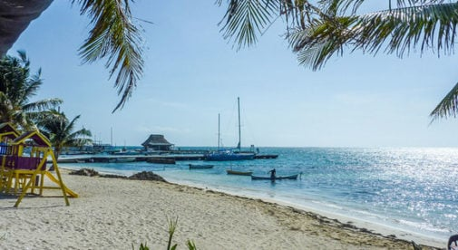 san-pedro-belize, Tropical Island in Belize