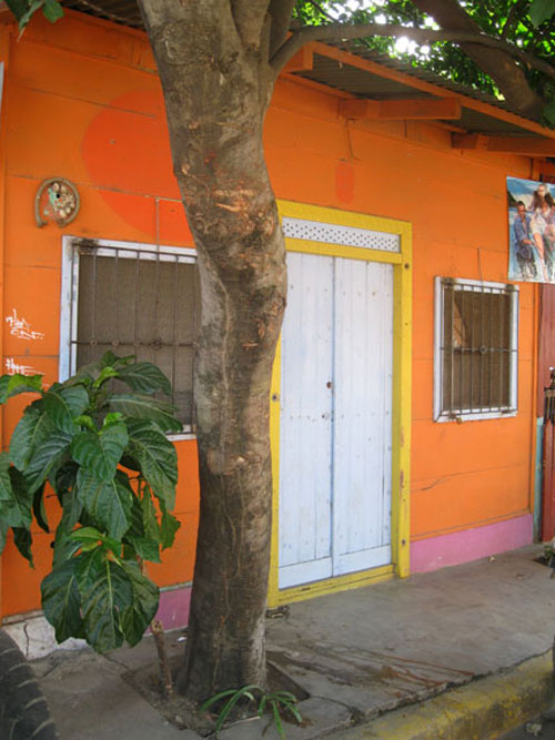 Buildings tend to be brightly-painted and often whimsically decorated.