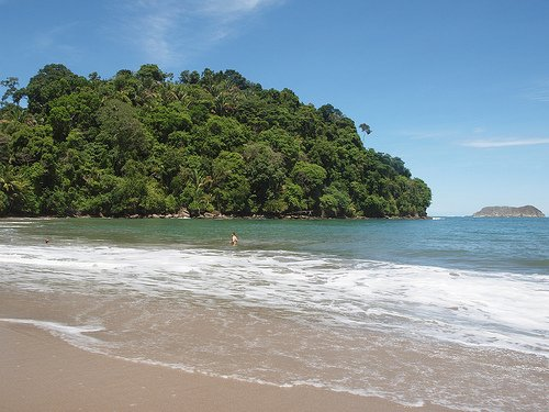 Manuel Antonio, on the Central Pacific coast, has a large English-speaking expat community.