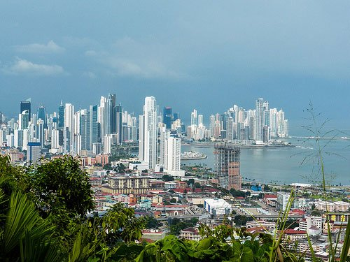 Panama City is famous for its breathtaking skyline view.
