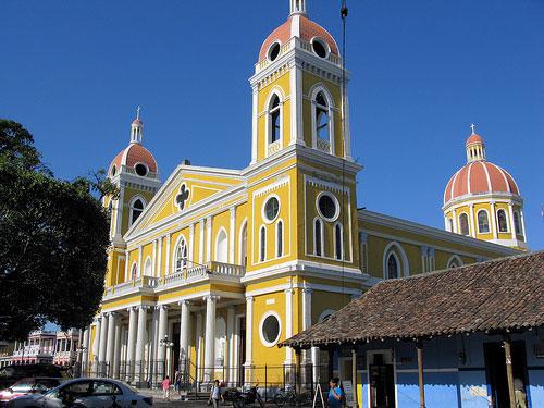 Granada's famous Catedral de Nuestra Senora de la Asuncion was built in 1583. It has been badly damaged and rebuilt several times.