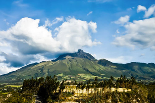 Famous for its gorgeous mountain scenery, Ecuador has many quaint mountain villages.