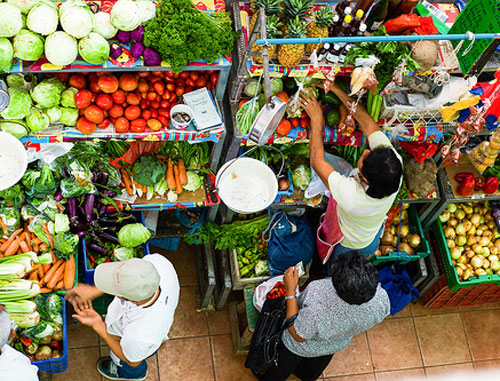 Brightly colored markets with the most diverse and freshest produce can be found in many areas in Panama.