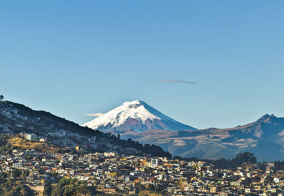 Ecuador's capital city is home to over two million people and was declared one of the first UNESCO World Heritage Sites