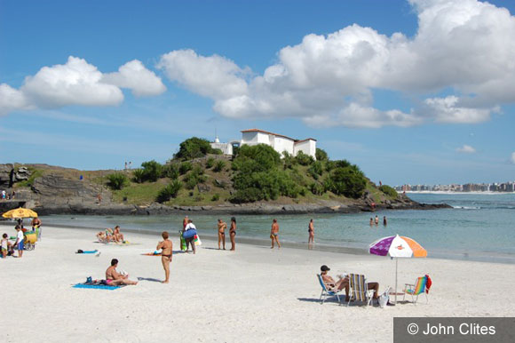 Beach Town Life in Cabo Frio, Brazil