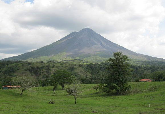Arenal is the best-known volcano in Costa Rica and home to a small but growing expat community who live on the shores of the nearby lake of the same name.