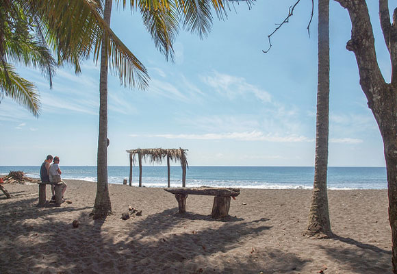 A surfer's haven thanks to some of the best waves in the country, Playa Hermosa has also developed a nice restaurant scene and features an upscale residential community.