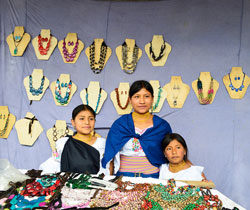 Markets in Otavalo are a must see when traveling to ecuador