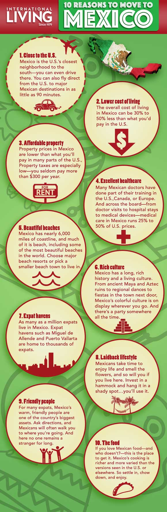 reasons to move to mexico infographic