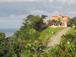 Hillside properties on R are more affordable than those by the beach, which is never far away.