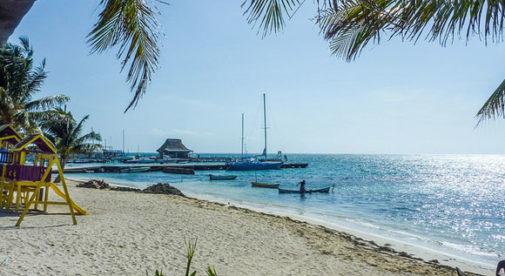 San Pedro, Ambergris Caye, Belize, Tropical Island
