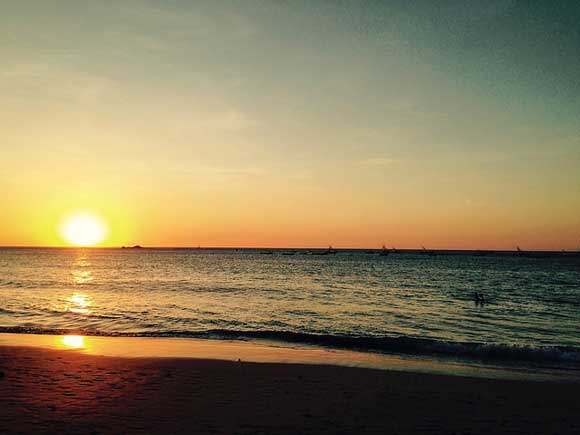 Shall We Sunset? The Best Way to Socialize in a Beach Town