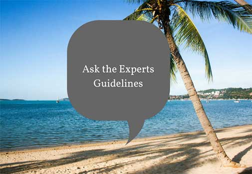 Ask the Experts Guidelines