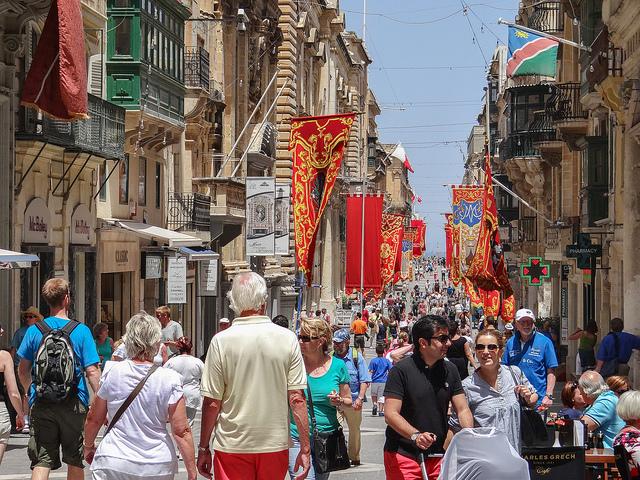 life in malta valletta