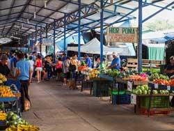 Grecia market, Costa Rica