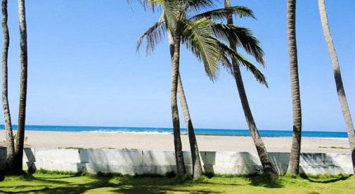 Poneloya beach, near Leon, Nicaragua Pacific coast.