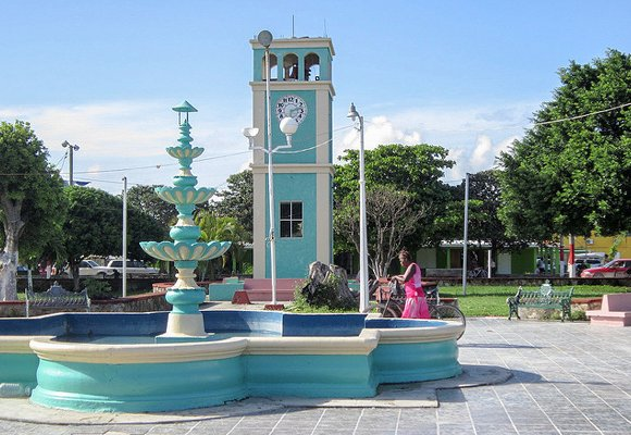 Slide3 - Corozal Main Square Plaza