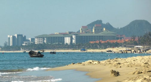 best beach in vietnam might be Da Nang