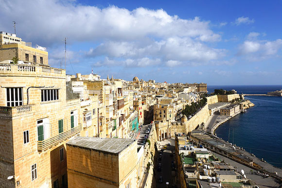 living in malta