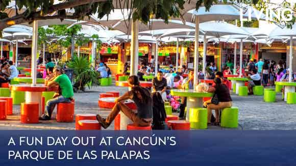 A Fun Day Out in Cancún's Parque de las Palapas