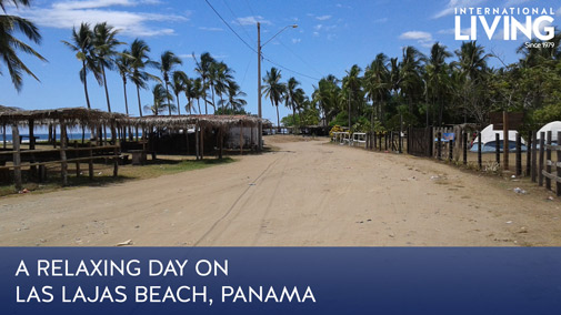 A Relaxing Day on Las Lajas Beach, Panama