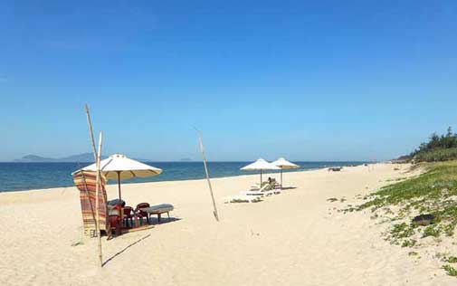 hoi an best beach in vietnam