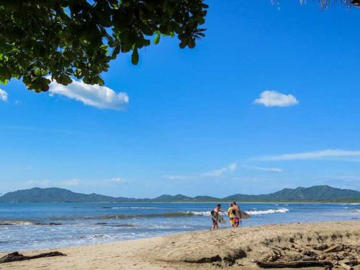 Pure Happiness in this Costa Rica Beach Town