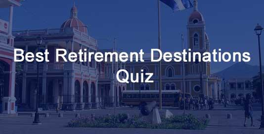 Retirement Destinations Quiz