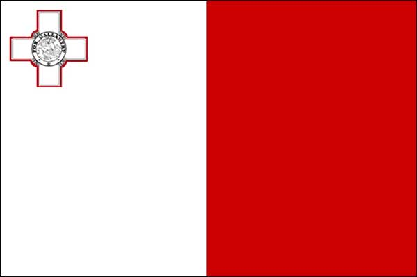 malta flag on international living