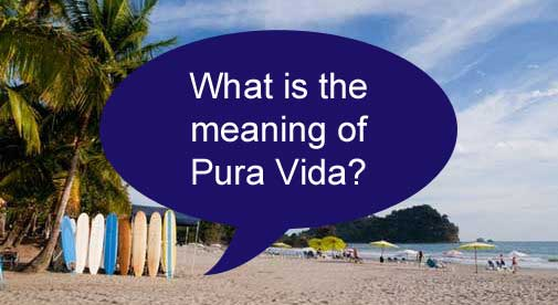 what is the meaning of pura vida
