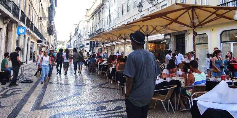 Baixa, the Heart of Lisbon