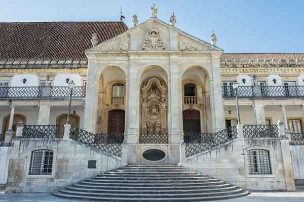 Joanine Library at the University of Coimbra