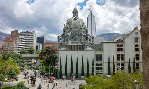 Big Surprises in Colombia's City of Eternal Spring