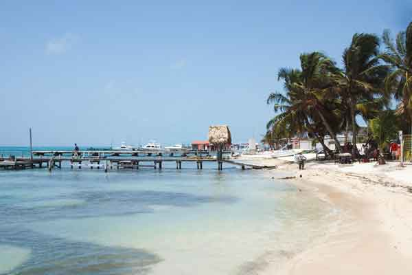 Belize Cayo Beach