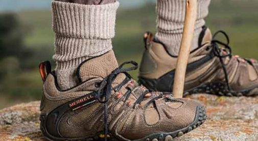 Break in your hiking shoes