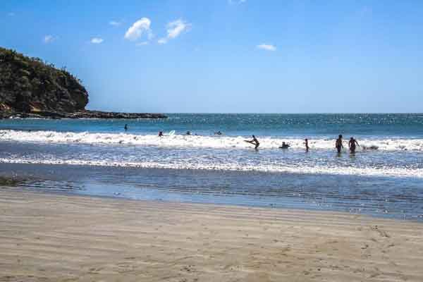 Hit One of the Many Stunning Virgin Beaches in San Juan Del Sur