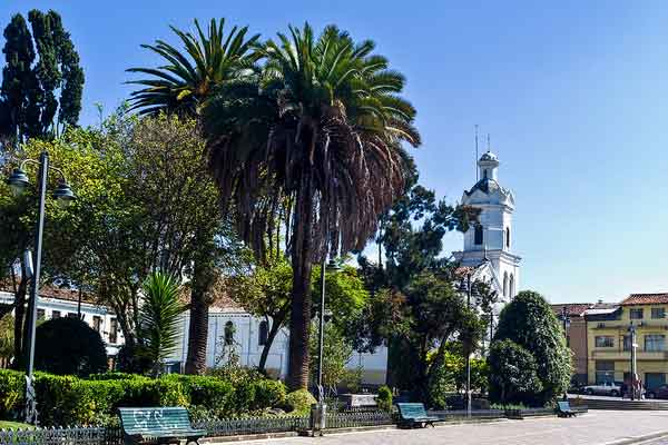 San Sebastian Park, Cuenca, Ecuador
