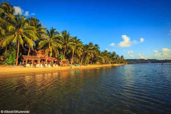 the Thai island of Kho Phangan