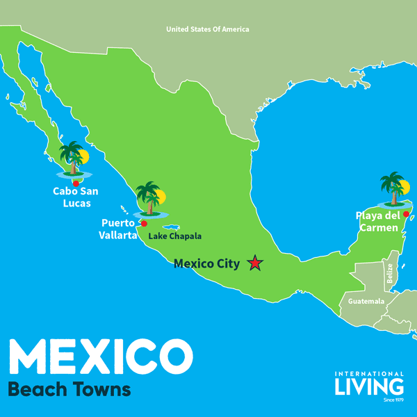 3 Best Towns in Mexico for Beachside Living