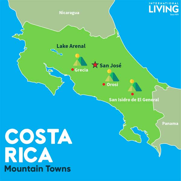 Maps of Costa Rica | Where is Costa Rica Located?