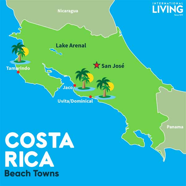Where Is Costa Rica On The Map Maps of Costa Rica | Where is Costa Rica Located?