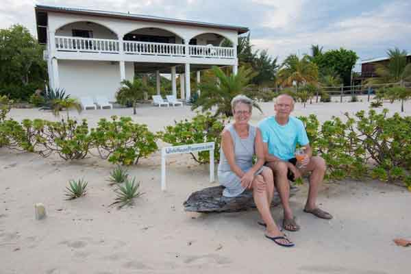 the Belize beach town of Placencia