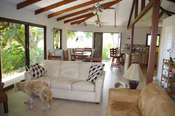 Mike and Jean love the open space they've created in their Costa Rica dream home